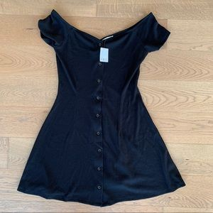 NEW Urban Outfitters Black Dress Large